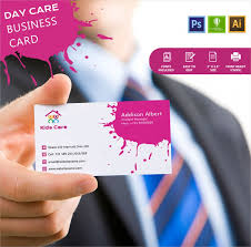 childcare business cards simple day care business card template free premium templates