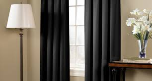 Blackout Curtains Black Curtain Black And White Curtains Grey And White Curtains
