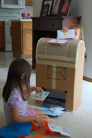 how to make a child s desk 27 ideas on how to use cardboard boxes for kids games and activities