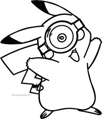 minion glass coloring pokemon pages pikachu ash printable