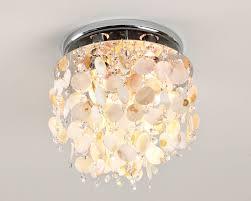 shell ceiling light fm08023cl of pearl disk ceiling light light l