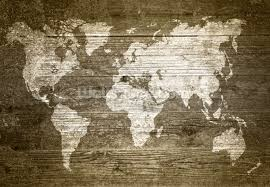 world map on wood wallpaper wall mural wallsauce usa save your design for later