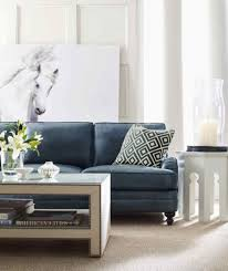 peculiar blue tufted sofa then living room decorating ideas in