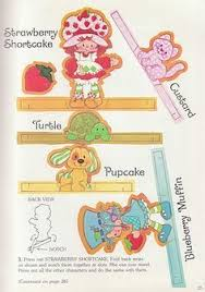 lots strawberry shortcake coloring books print vintage