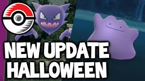 hallowen download pokemon go halloween update download available with rewards and
