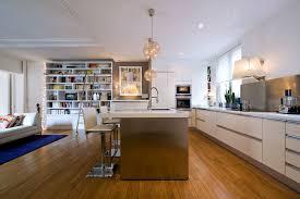 cuisines ouvertes sur salon amnagement cuisine ouverte sur salon une cuisine amricaine