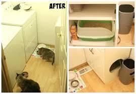 interior design jobs litter box furniture cabinet laundry room cleanup diy cat litter box