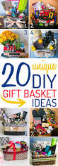 best 25 diy gift baskets ideas on pinterest unique gift basket