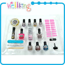 non toxic sparkle nail set glitter nail polish for kids buy nail
