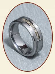 cremation jewelry rings tungsten carbide men s cremation jewelry ash ring width rb045