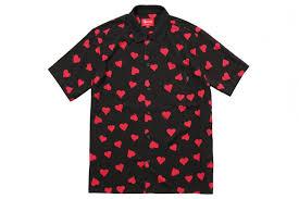 supreme shirts supreme hearts rayon shirt sneak attack