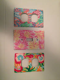 painted light switch covers diy lilly pulitzer hand painted outlet and light switch plates