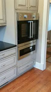 Kitchen Oven Cabinets Double Oven Cabinet Interior Design Ideas Love The Gold Knobs On