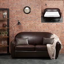 canapé cuir 2 places convertible canape cuir 2 places maison design wiblia com