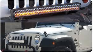 led light bar jeep wrangler jeep wrangler led lighting and mounts auxbeam