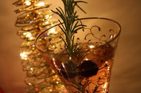 fancy christmas christmas cocktail and all the trimmings