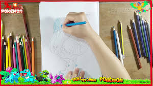 how to draw cute pokemon sand castle coloring pages for baby