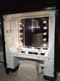 bedroom mesmerizing mirror vanity table with lights bedroom