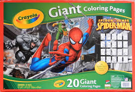 spiderfan org comics spider man 18 giant coloring pages crayola