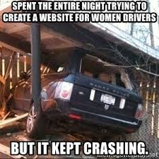 Car Wreck Meme - car crash meme generator