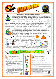 458 free esl halloween worksheets