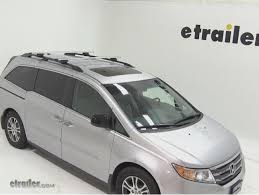 honda odyssey roof rails thule aeroblade roof rack systems for the 2014 honda odyssey