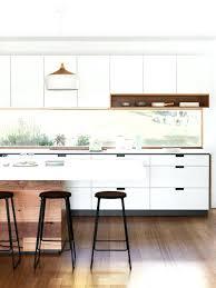 cuisine blanche moderne stunning deco cuisine blanc et bois images design trends 2017