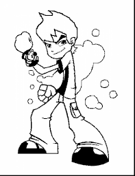 fantastic ben alien force coloring ben ten coloring pages