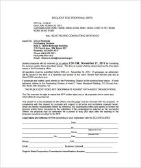 consultant proposal template template design