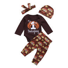 my 1st thanksgiving thanksgiving baby toddler clothing ebay