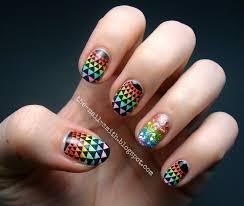 the nail smith kaleidoscopic leadlight rainbow awesomeness