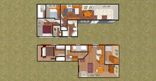 3d Home Layout by Floor Plans For Container Homes Intermodal Shipping Container Home