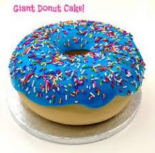 triple jumbo donut cake sprinkle donut donut cakes and cake cover