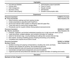 Resume Writing Communication Skills by Resume Personal Assistant Beautiful Resume Professional Writing