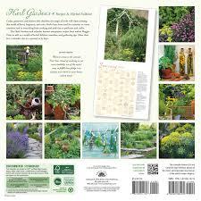 herb gardens 2017 wall calendar recipes u0026 herbal folklore maggie