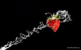 fond ecran cuisine fond d écran fraise n 4160 fondecranmagique com