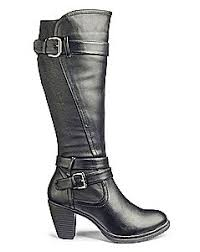 womens size 9 eee boots wide calf knee hight boots for simplybe us site