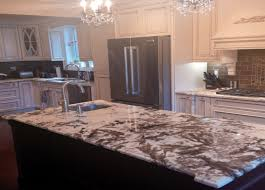 Kitchen Island With Granite Countertop Kitchen Island Alpinus Granite 3cm Polished Kitchens