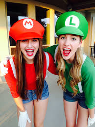 halloween costume ideas for teens mario and luigi halloween costumes super craftyyyy pinterest