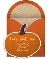 invitations from fall invitations