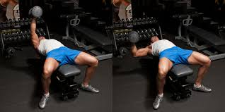 Bench Pressing With Dumbbells Hammer Grip One Arm Dumbbell Bench Press Weight Training
