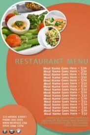 customizable design templates for menu template postermywall