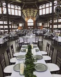 table and chair rentals in detroit eastern market wedding weddings events by luxe