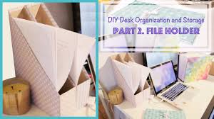 desk storage ideas diy magazine holder from cereal box desk organization and