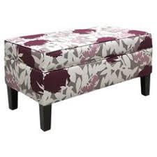 Skyline Furniture Upholstered Storage Bench Skyline Furniture Upholstered Storage Bench In Traditions Black