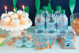 mermaid party ideas 3 diy mermaid party favor ideas gift favor ideas from evermine