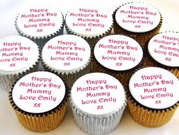 personalised cupcakes mothers day cupcakes