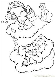 care bears 53 coloring page free the care bears coloring pages