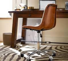 pottery barn desk chair mitchell swivel desk chair pottery barn