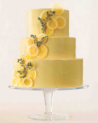 wedding cake flavor ideas lemon thyme pound cake